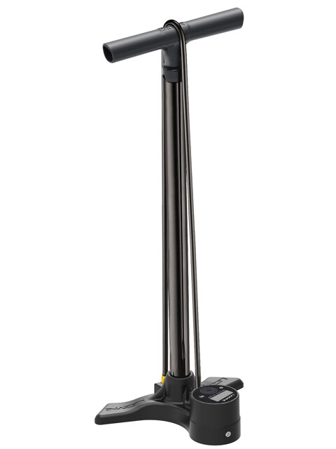 Lezyne Macro Floor Drive Digital Standluftpumpe schwarz glänzend